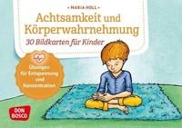 Don Bosco Medien GmbH Achtsamkeit und Körperwahrnehmung. 30 Bildkarten für Kinder